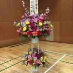 日中太極拳交流協会理事長様からのお花
